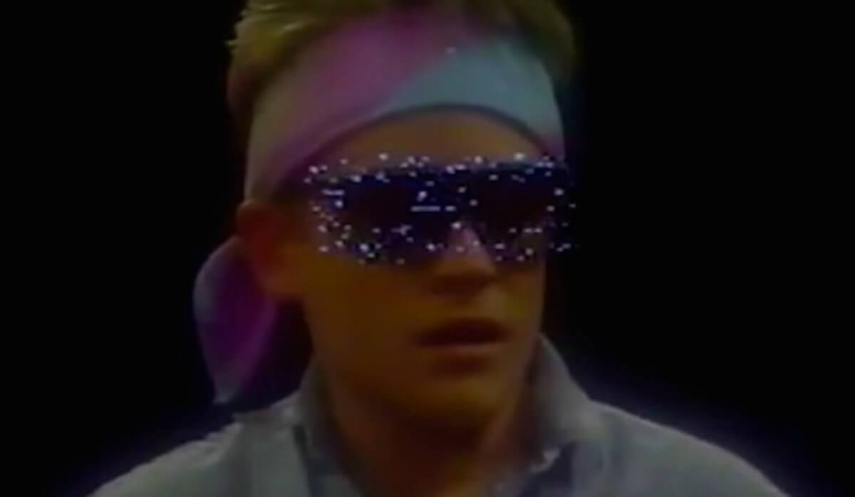 rechtstreeks uit de jaren 80