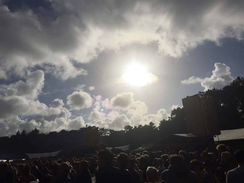 Gelukkig was de zon soms ook te zien