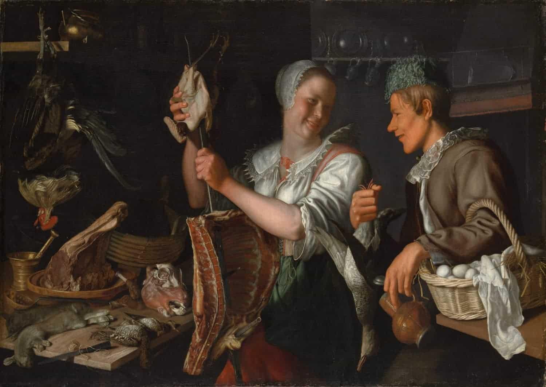 Metropolitan Museum of Art- Peter Wtewael - Keukenscene
