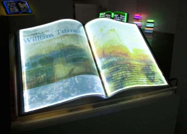 lichtgevende boeken