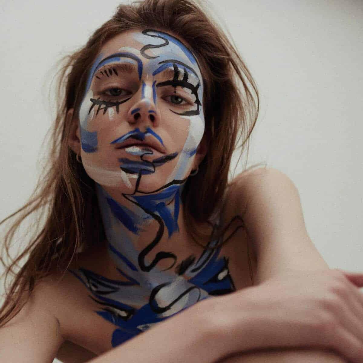 bodypaint en kunst