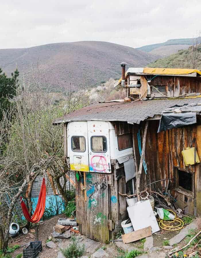 ecologisch dorp in Spanje