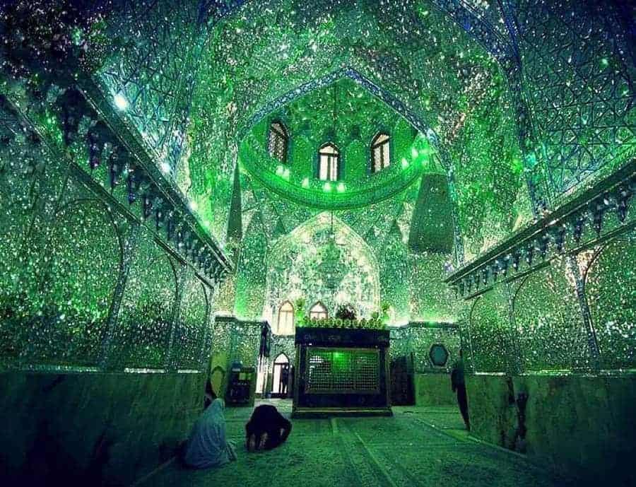 mausoleum in Iran