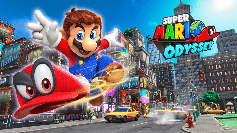 Mario in New Donk City
