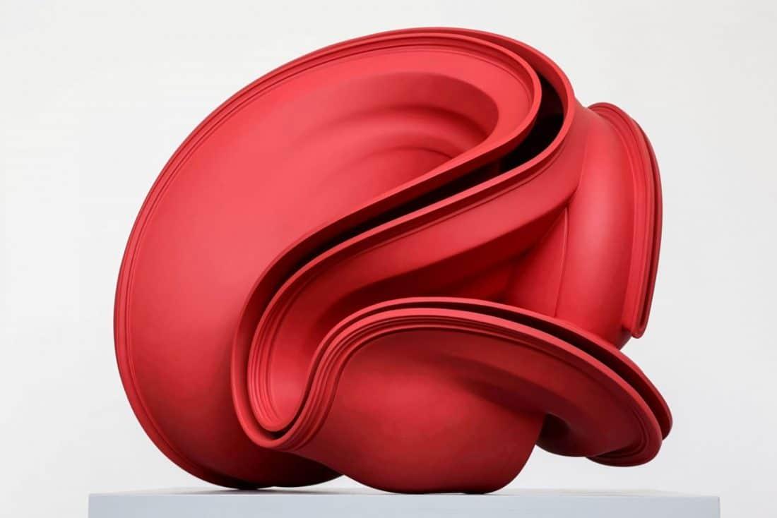 sculptuur van kunstenaar Tony Cragg