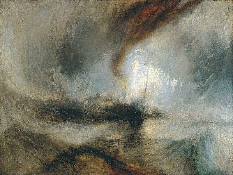 schilderij van William Turner