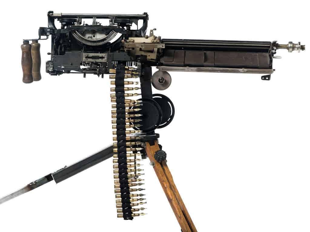 machinegeweer van Ravi Zupa