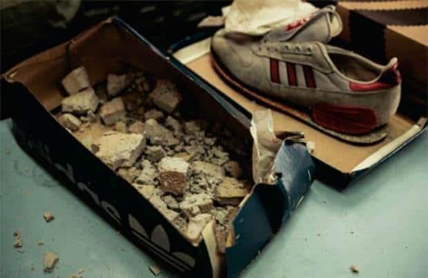 heel oude sneakers van adidas