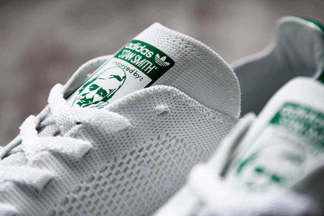 gebreide sneaker van adidas