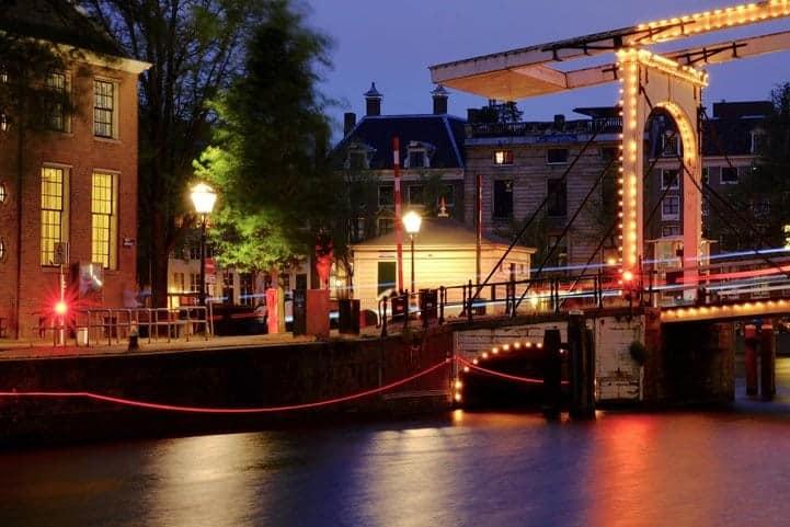 Ai Weiwei op het Amsterdam Light Festival