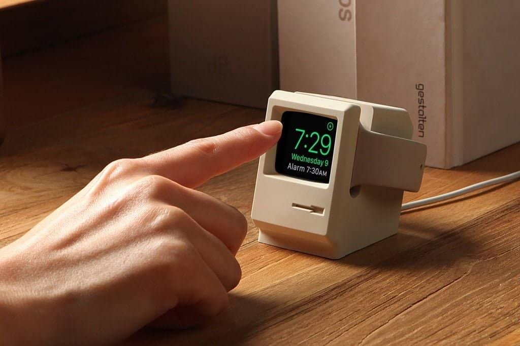 old school oplader voor de Apple Watch