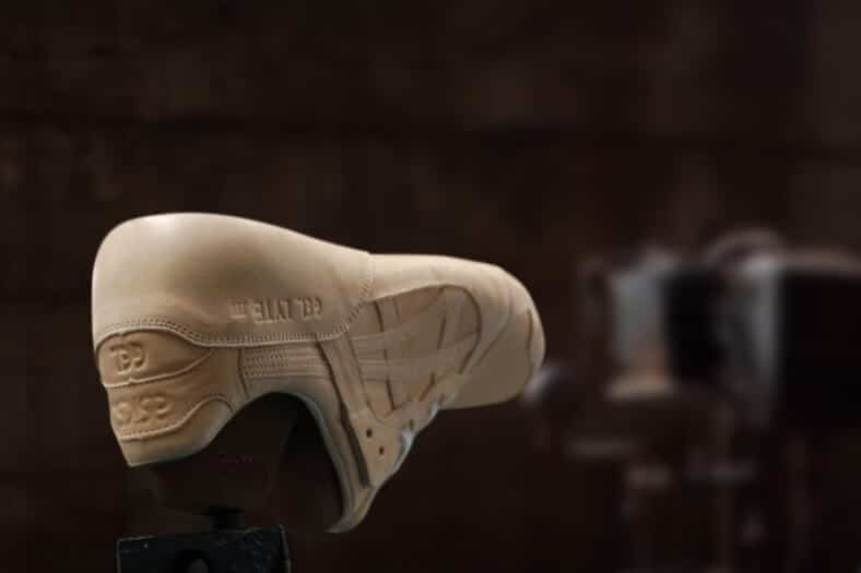handgemaakte sneaker van asics