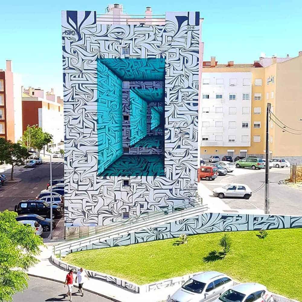 street art van Astro
