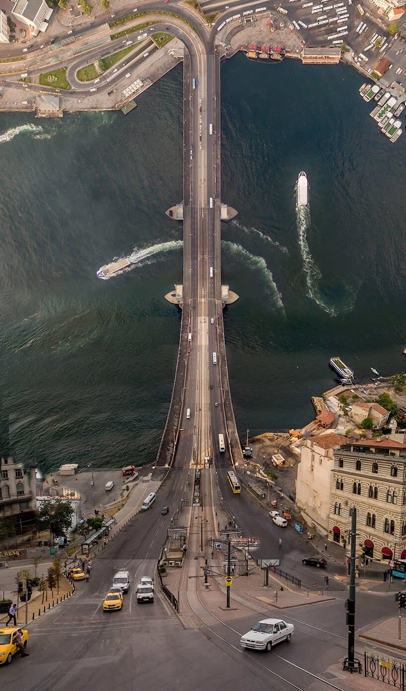 istanbul vanuit de lucht