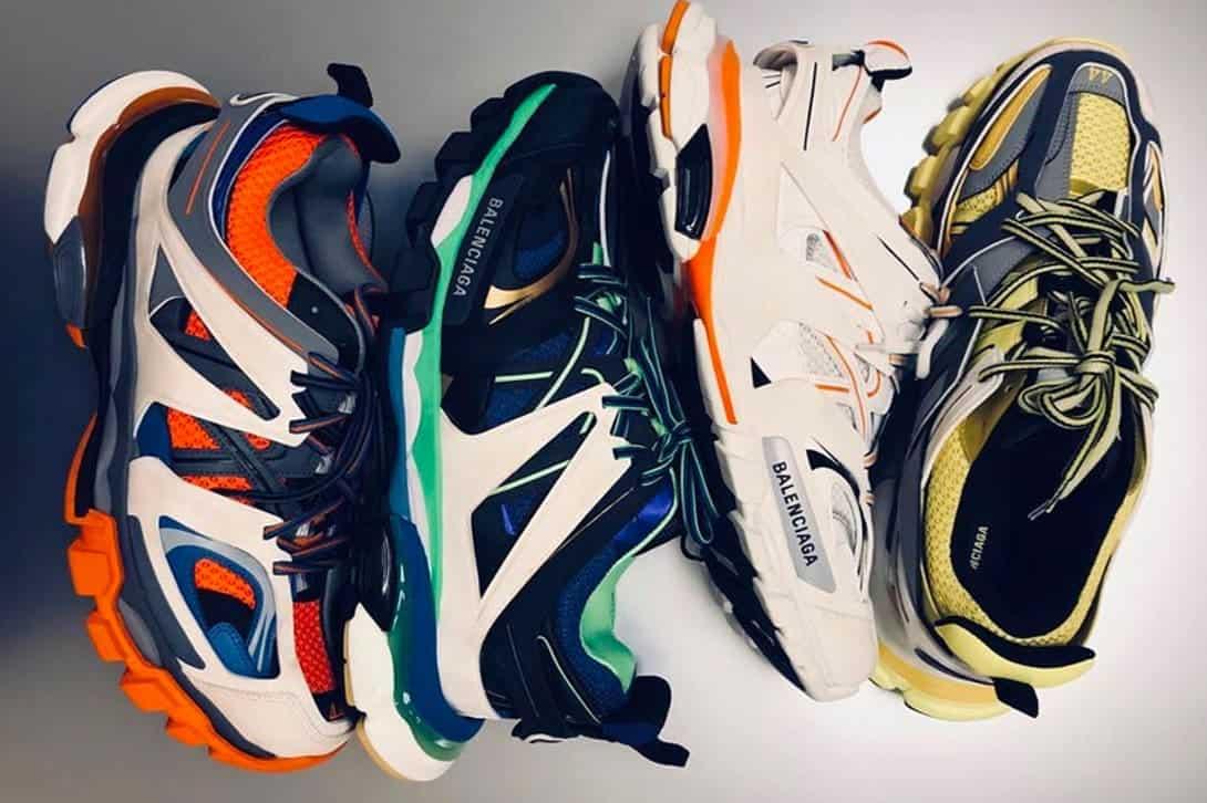 Sneakers van Balenciaga