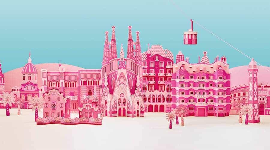 Barcelona door Zim&Zou