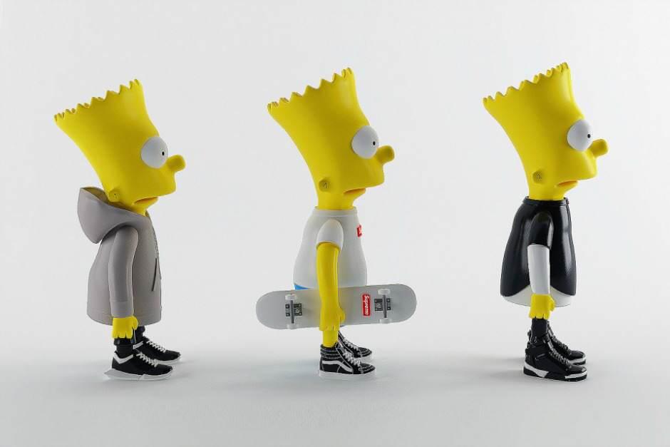 Bart Simpson in de laatste mode