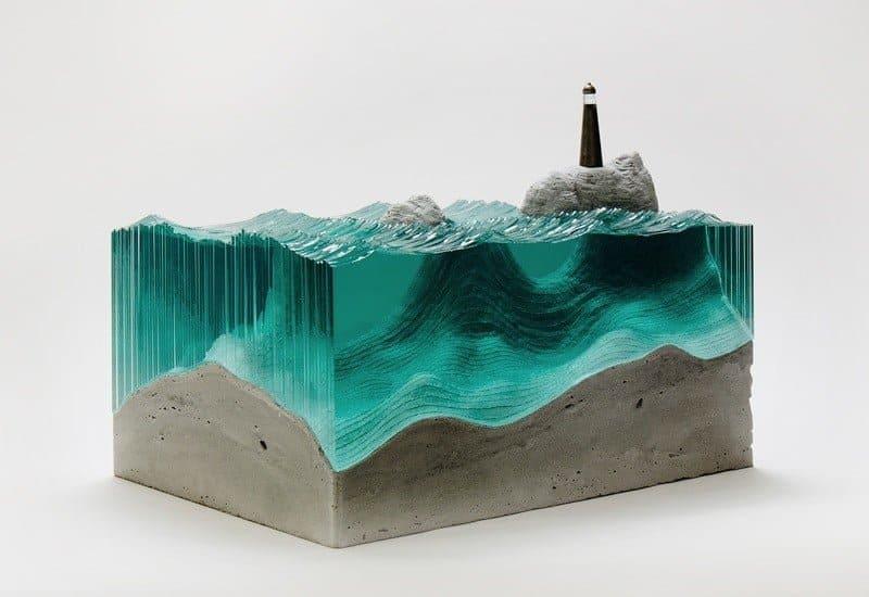Sculptuur van Ben Young