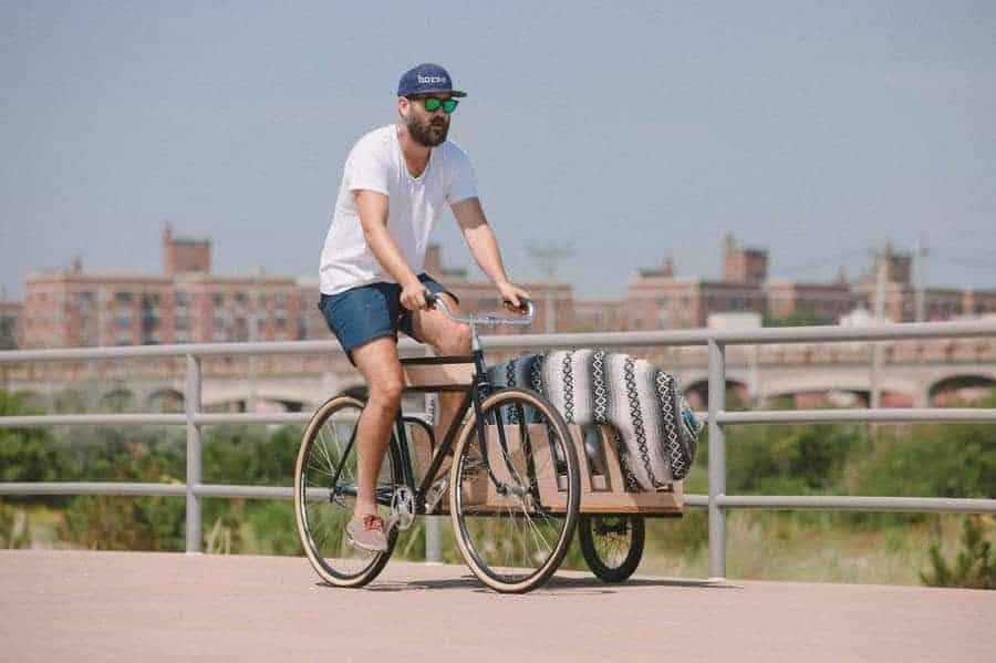 fiets met zijspan