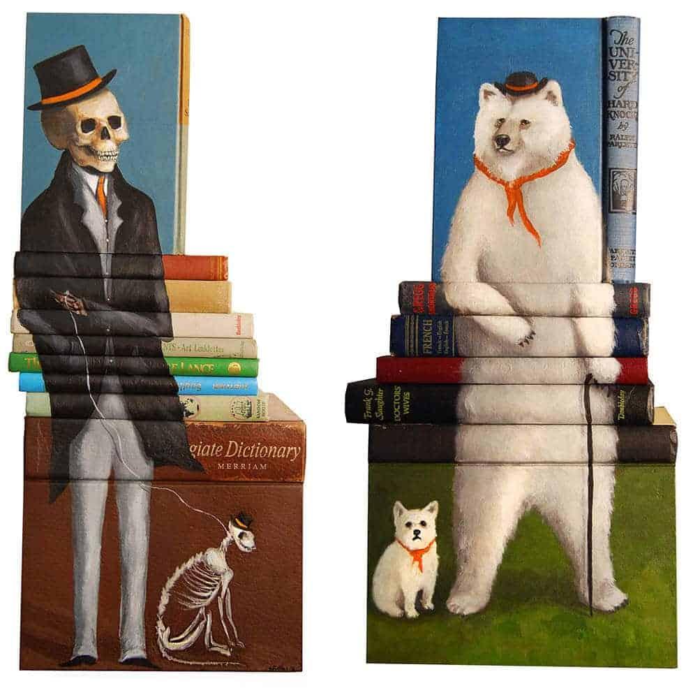beschilderde boeken