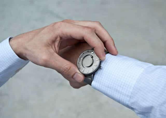 horloge voor blinden