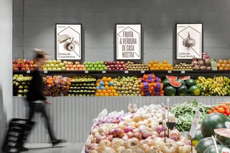 groentewinkel in Barcelona