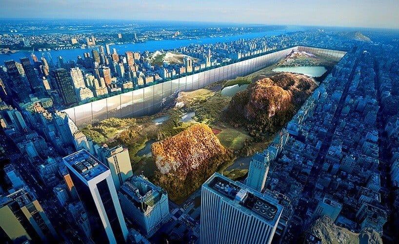 woeste natuur in New York