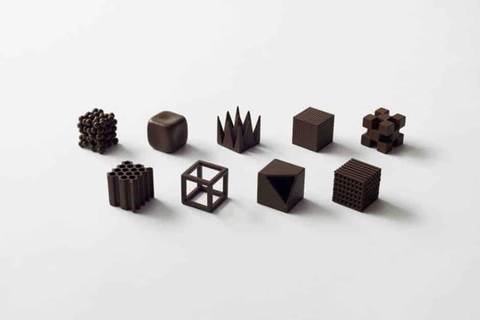Proef de textuur van deze bijzondere chocola uit Japan