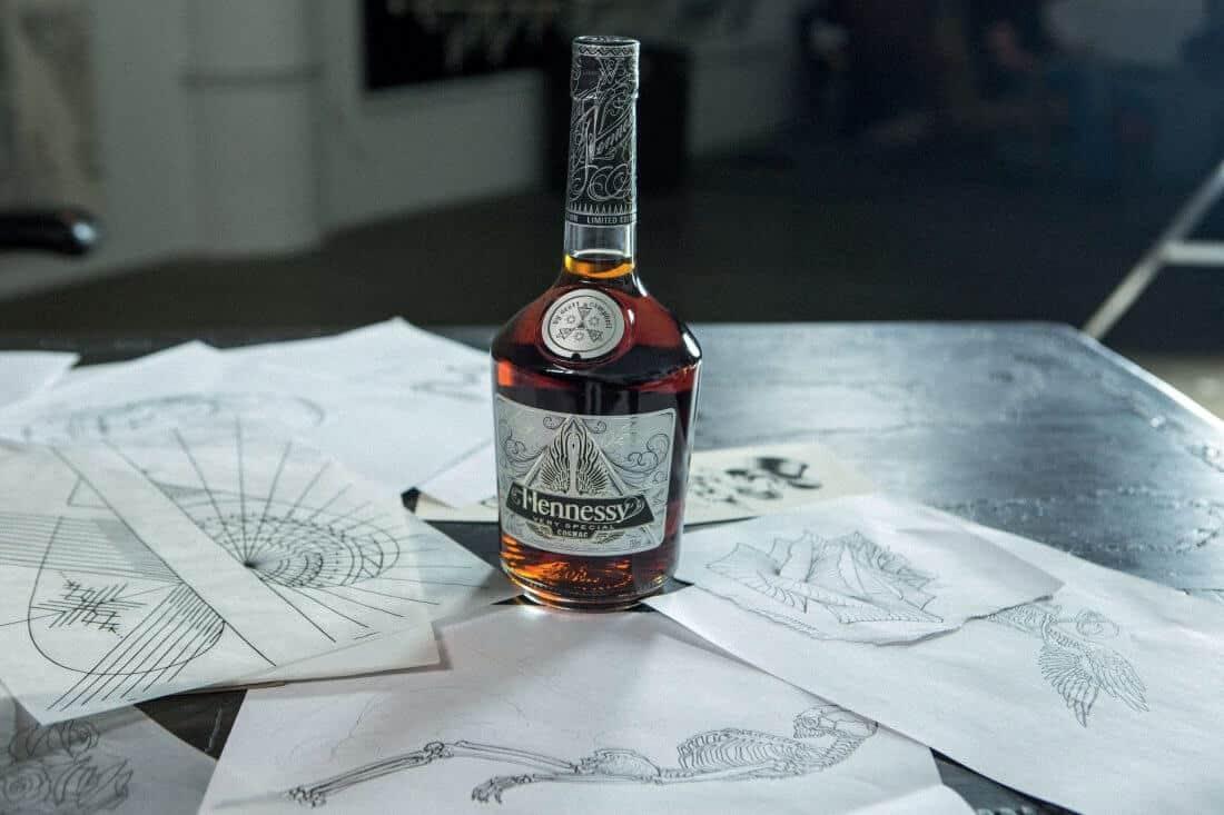 Scott Campbell voor Hennessy