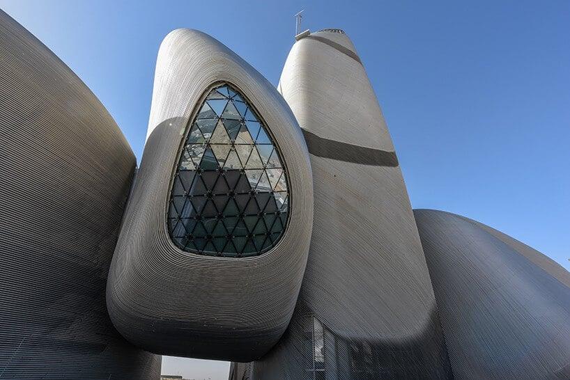 King Abdulaziz Center for World Culture in Dhahran, Saudi-Arabië door SNØHETTA / Foto : Saudi Aramco