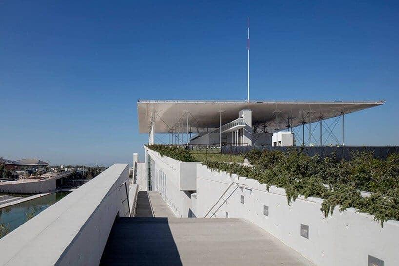Stavros Niarchos Foundation Cultural Center in Athene door Renzo Piano / Foto : Yiorgis Yerolymbos