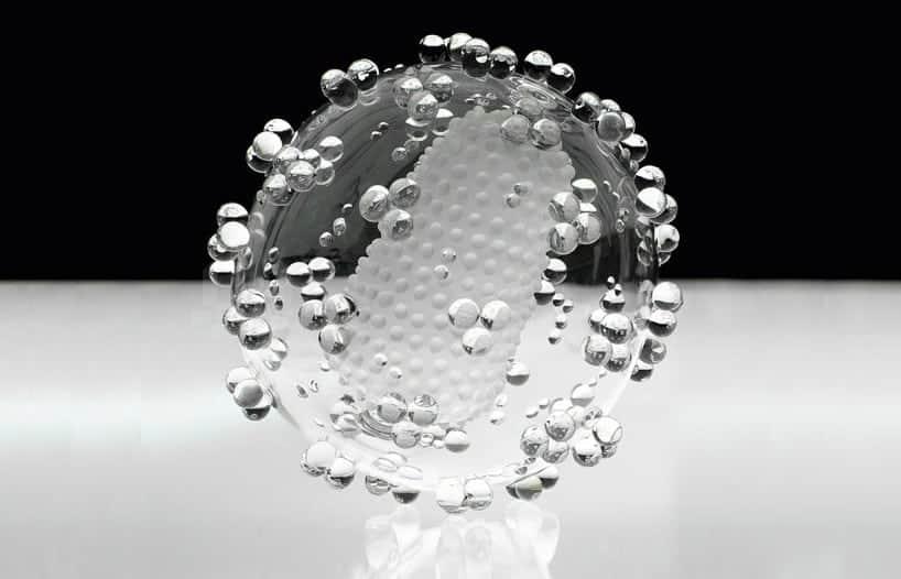 Glazen versies van dodelijke virussen