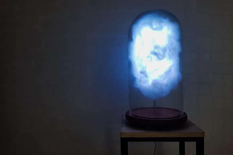 lamp met onweer