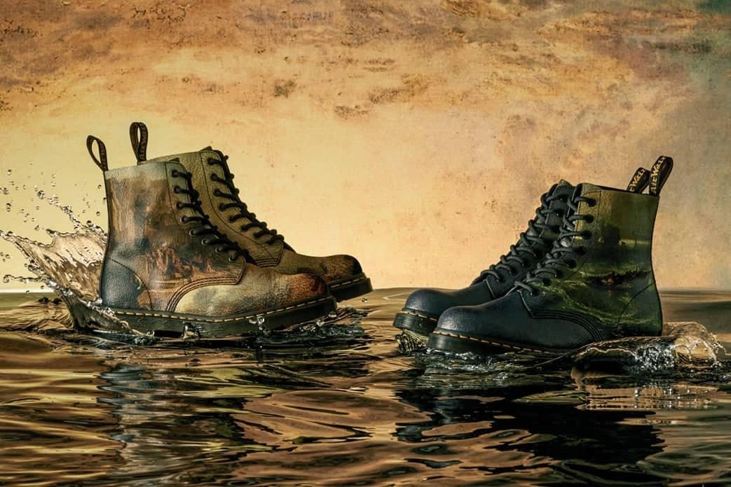 kunst aan je voeten