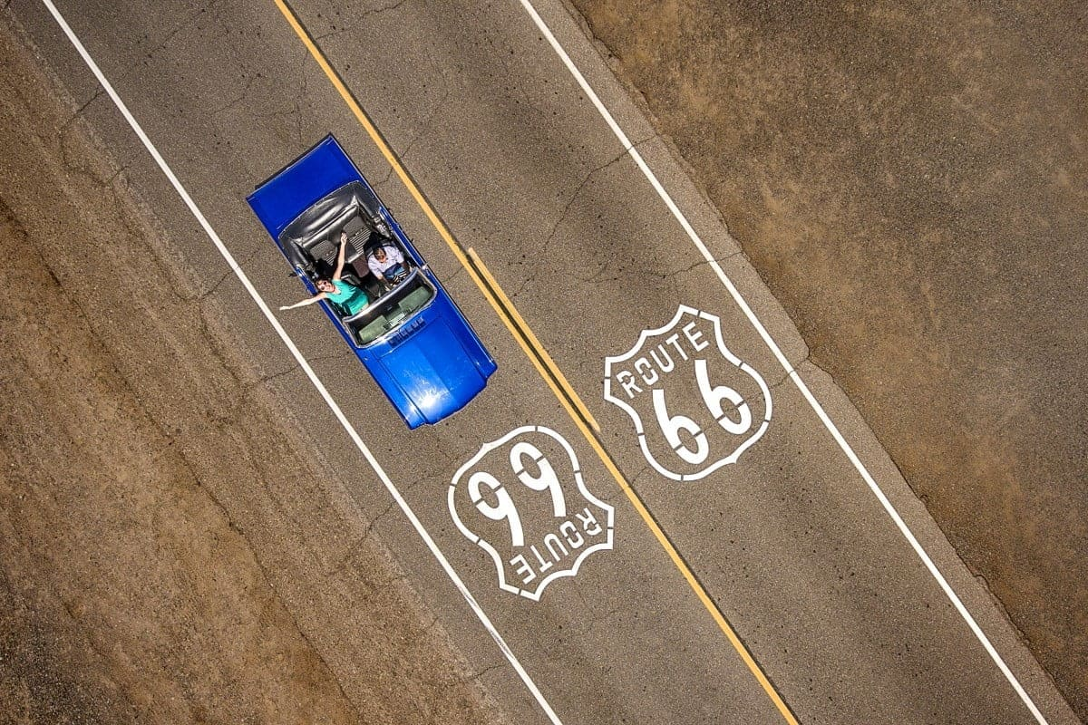 Cruising the Route 66 door Raf Willems