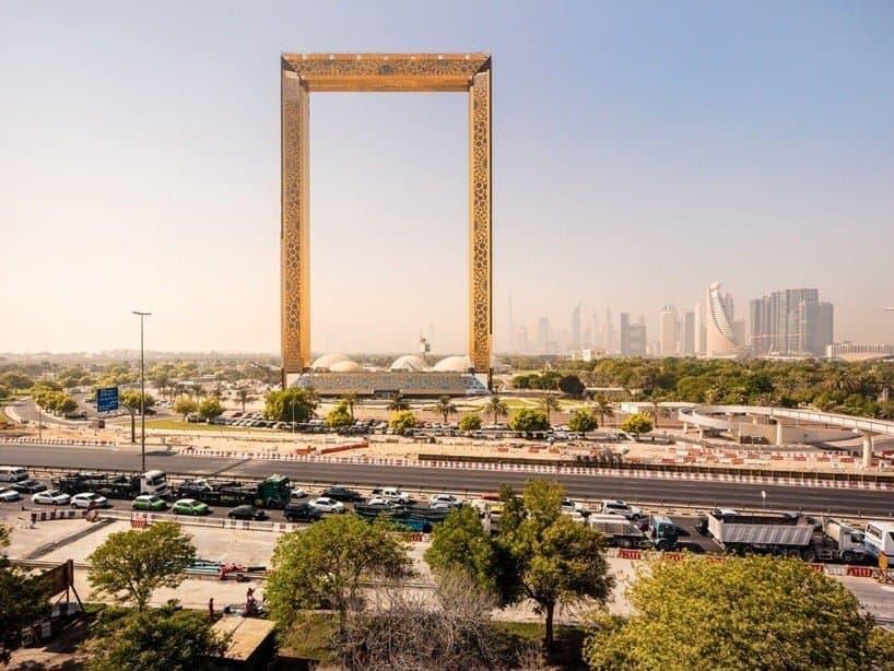 enorme lijst in Dubai