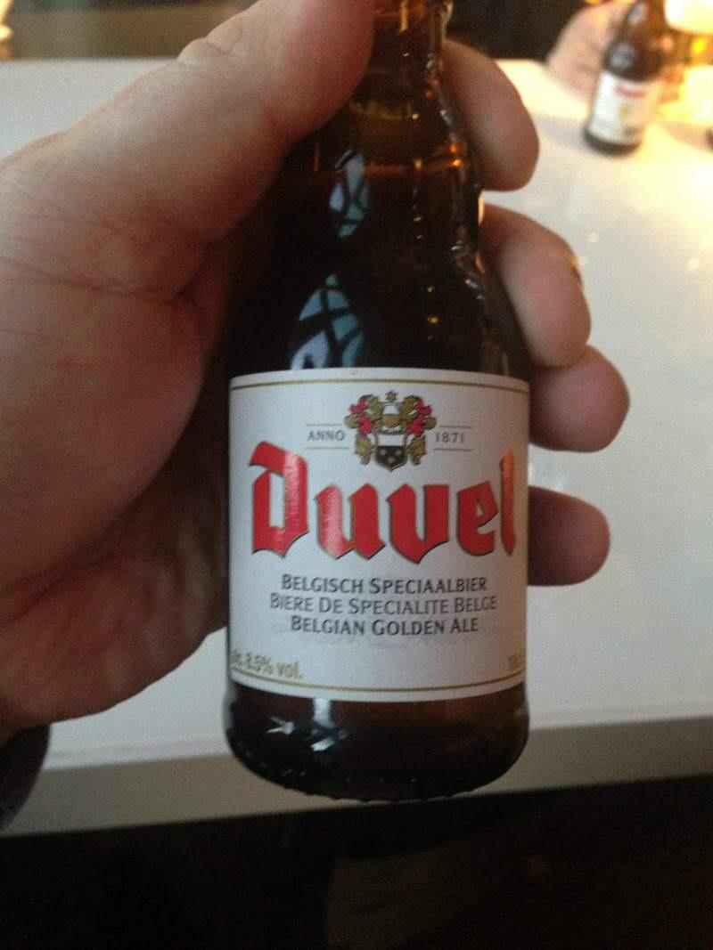 klein flesje Duvel