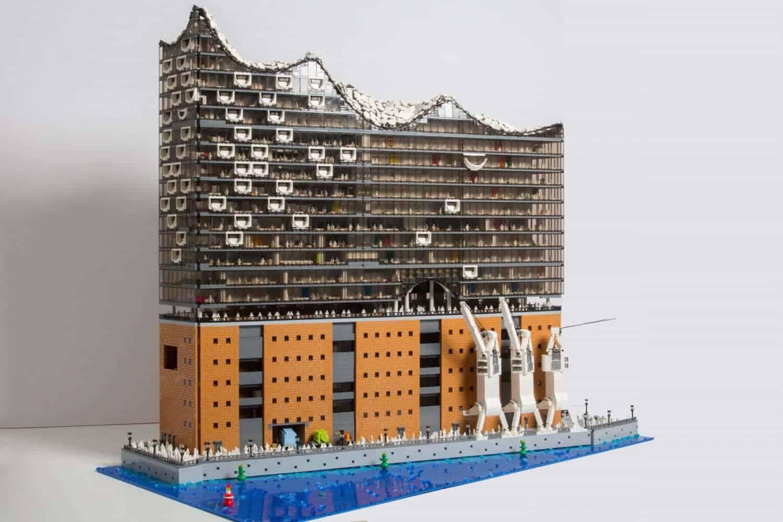 Elbphilharmonie van LEGO