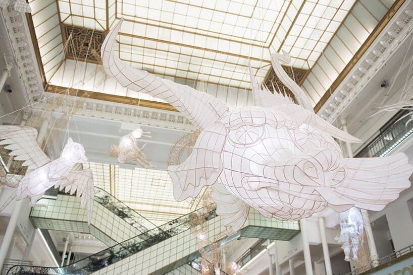 Ai Weiwei in warenhuis Le Bon Marché