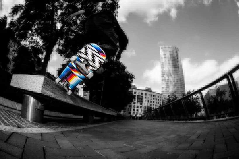 kleurrijk skateboard