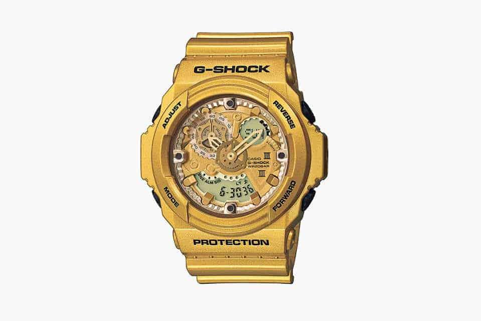 gouden g-shock