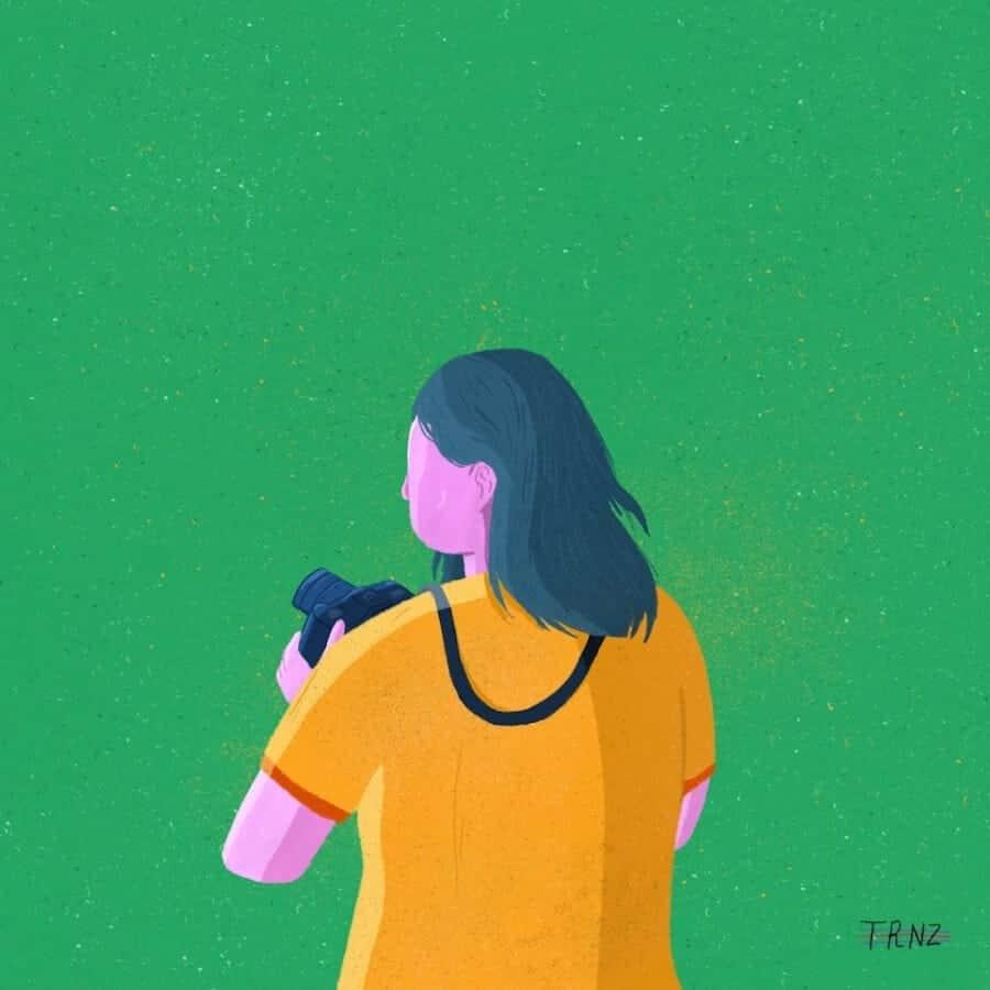 illustratie van Terence Eduarte