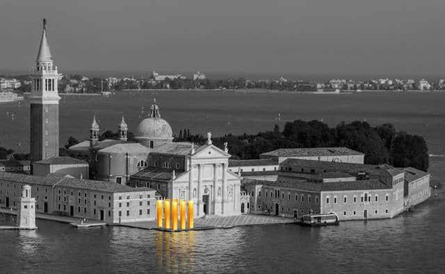gouden pilaren