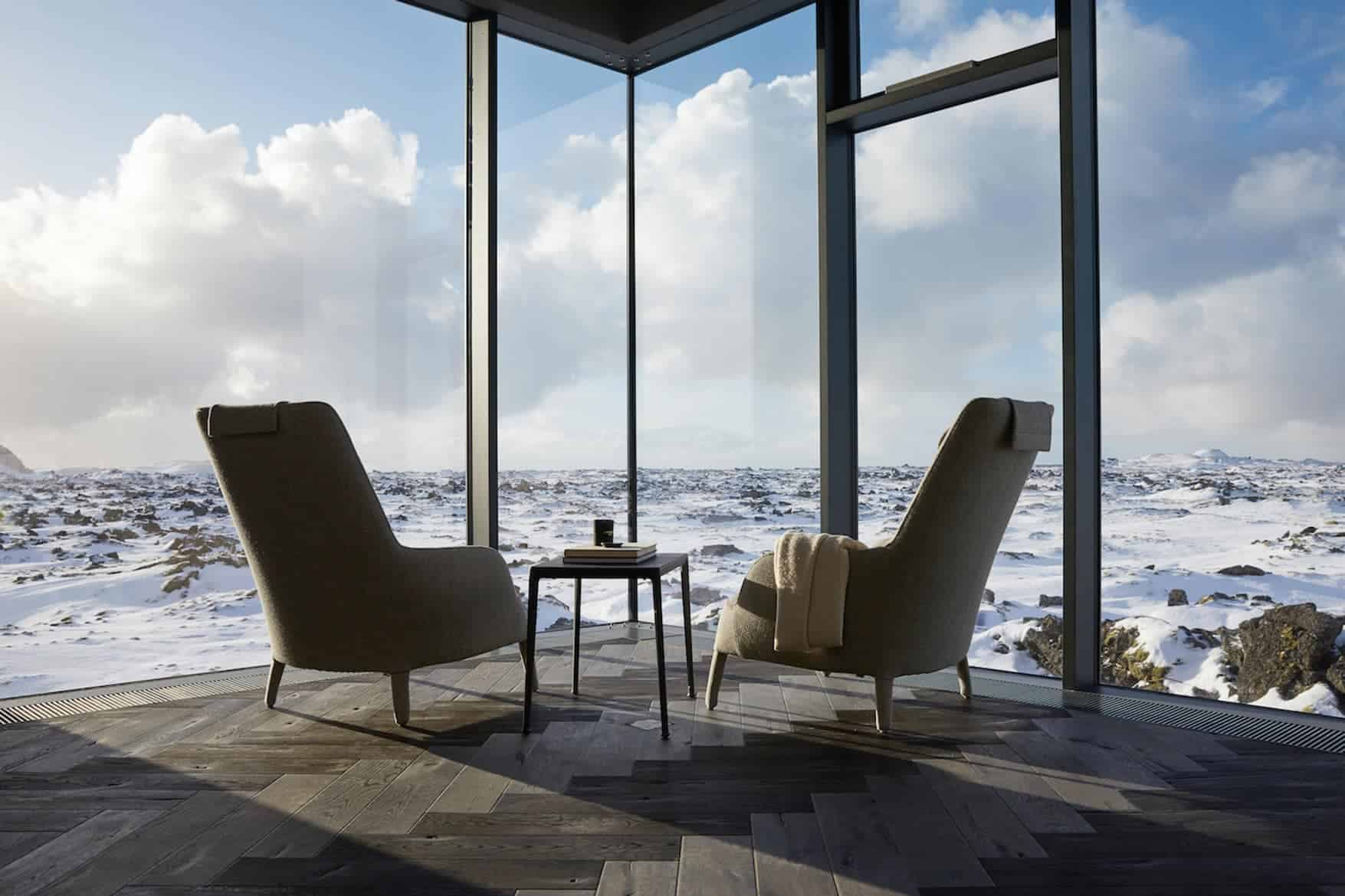 luxe hotel op IJsland
