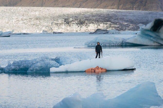 kunst op ijs