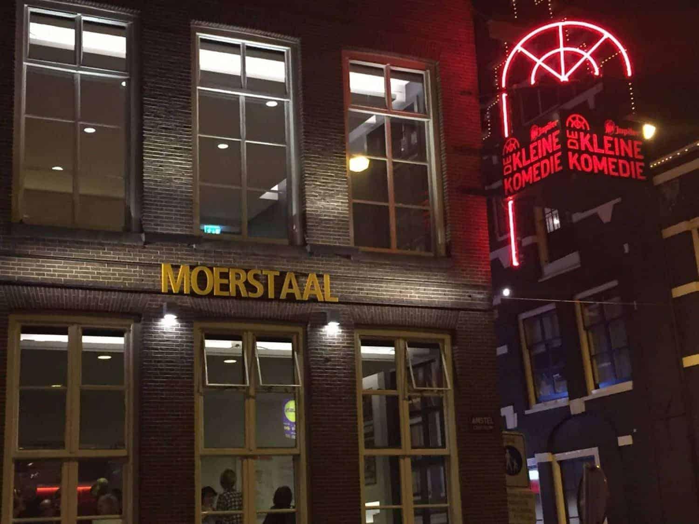 Moerstaal in Amsterdam