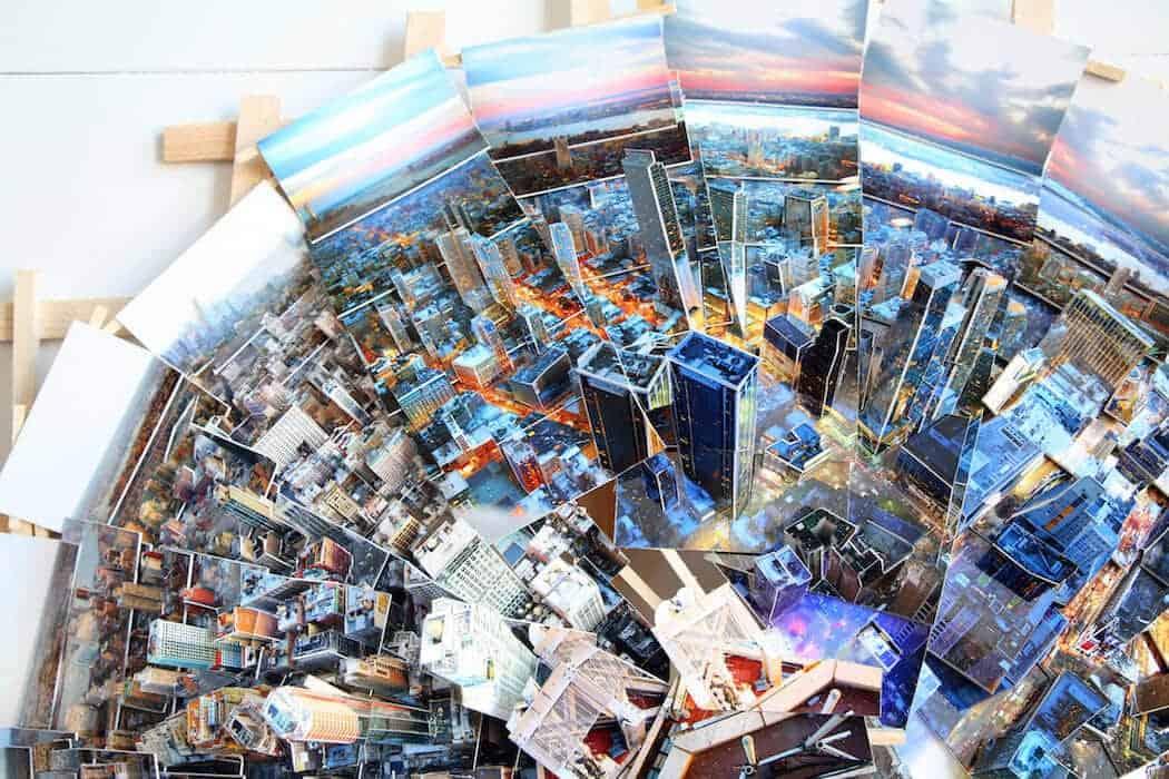 planeetvormige stad