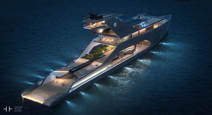 luxe superjacht