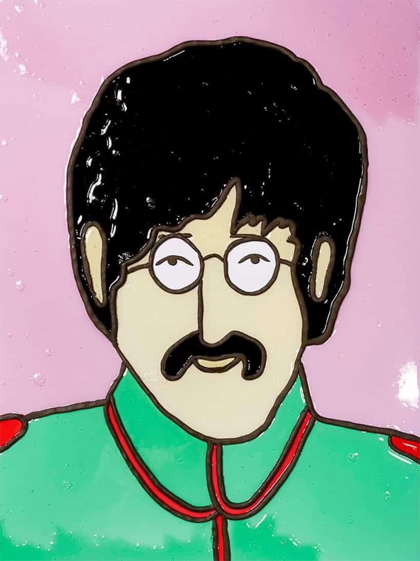 The Beatles van gelatine