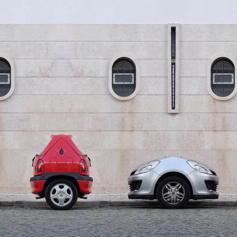 extreem kleine auto